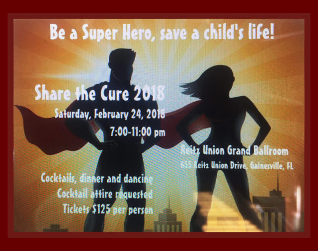 Share the Cure 2018