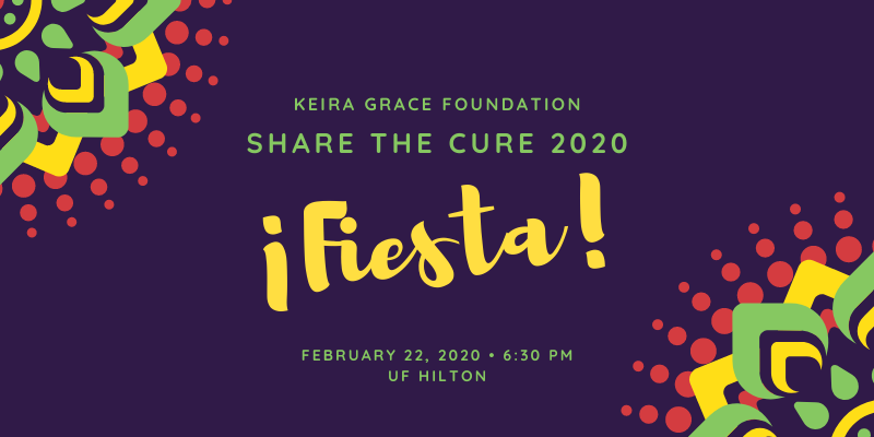 Announcing Share the Cure 2020 ¡Fiesta!